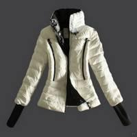Buy cheap White Moncler Women's jackets from wholesalers