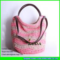 Luda Cheap Shopping Bags For Sale Paper Straw Beach