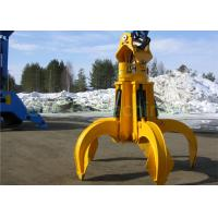 China Excavator Orange Peel Grab Hydraulic 6 Peel Grab OUCO Grab For Engineer Construction Spot on sale