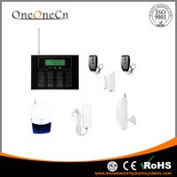 Buy cheap Wireless Home GSM Security Alarm System With Touch keypad Screen from wholesalers