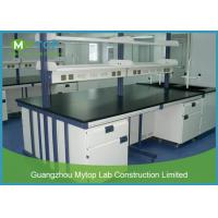 Buy cheap Steel Modern Laboratory Furniture Epoxy Coating Lab Workbench Impact Resistance from wholesalers