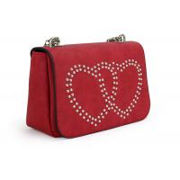 Buy cheap Multi Colored Womens Shoulder Handbags Rhinestone Pattern With Metal Chain from wholesalers