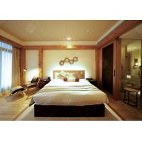 5 Star Hotel Quality Furniture Wooden Frame , Contemporary King Bedroom Sets