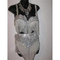 Buy cheap Caribbean silver carnival costume from wholesalers
