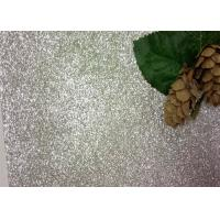 Buy cheap Bedroom Wallpaper PU Material Silver Glitter Fabric For Living Room Home Decor from wholesalers
