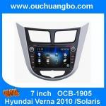 Buy cheap Ouchuangbo Car Radio DVD Navi Multimedia Hyundai Verna 2010 /Solaris 2010 GPS Canada map from wholesalers