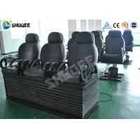 Buy cheap Electric 5D Cinema Equipment With Black Motion Chair , Provide Accurate Motion Effect product