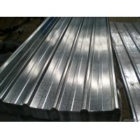 Buy cheap Corrugated Structure Galvanised Roofing Sheets , Galvanized Metal Roofing from wholesalers