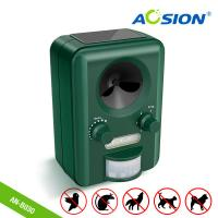 Buy cheap Aosion Factoty Garden Using With Flashing Solar Ultrasonic Animal Cat Dog Bird Deer Fox Repellent  Repeller from wholesalers
