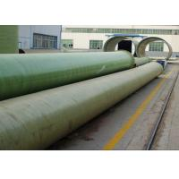 Buy cheap FRP GRP Fiberglass Composite Pressure Epoxy Resin Water and Oil Pipes from wholesalers
