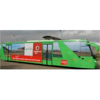 Buy cheap Large Capacity 200 Liter Fuel tank Low Floor Buses Apron Bus For Airport from wholesalers