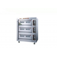 Buy cheap Stainless Steel 220V 180w 3 Deck Bakery Oven from wholesalers