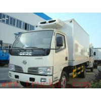 Buy cheap China good quality refrigerated truck with meat hooks for sale, factory sale refrigerator truck for frozen meats from wholesalers