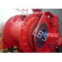 Buy cheap Hydraulic Footstep Piledriver Winch Lebus Drum Offshore Winch For Rotary Drilling Rig from wholesalers