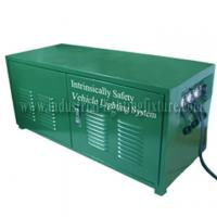 Buy cheap Green Rechargeable 6A 24V Industrial Lighting Fixture / Power Distribution Box For LED light from wholesalers