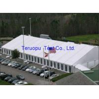 Buy cheap Frame marquee clear span tent, aluminum frame pvc ridge tent waterproof from wholesalers