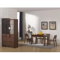 Buy cheap 2016 Nordic Design Small Dining room furniture by Enlargeable Tables with Chairs and Wine Cabinet from wholesalers