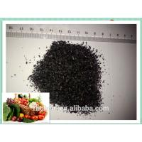 Buy cheap high solubility potassium humate shiny flakes 98 from wholesalers