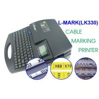 Buy cheap 300dpi Black Cable Marking Printer , automatic full - cutting heat shrink tube printer from wholesalers