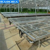 Buy cheap Galvanized Greenhouse Rolling Benches / Greenhouse Benches And Tables from wholesalers