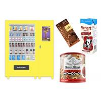 Buy cheap Self Automatic Snack Combo Vending Machine , Conveyor Belt Vending Locker With Elevator from wholesalers