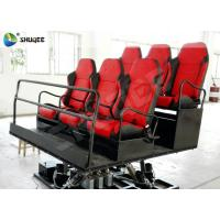 Buy cheap Shooting Gun Game 7D Movie Theater Hydraulic Platform Chairs for 6 People product