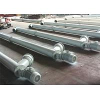 Buy cheap Pipe Auger Screw Conveyor GX Carbon Steel Flexible Inclined Cement from wholesalers