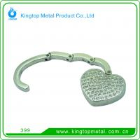 Buy cheap Rhinestone heart foldable bag hanger from wholesalers