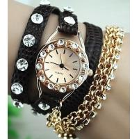 Buy cheap New Arrival Rhinestone Bracelet Design Watch Ladies Watch Fashion Woman Watch from wholesalers
