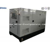 Buy cheap Perkins Rainproof 45KVA 36KW Silent Diesel Generator  With Three Phase Four Wire Alternator from wholesalers