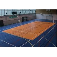 Buy cheap Recycled Rubber Gym Floor Tiles Anti Static for Basketball Court from wholesalers