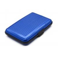 Buy cheap Aluminum Plastic 110 x 75 x 20mm RFID Blocking Cards Wallet from wholesalers