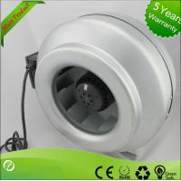 Buy cheap Popular Inline Centrifugal Duct Fan , Air Duct Booster Fan Low Noise from wholesalers