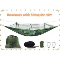 Buy cheap Hammock Outdoor Ultralight Nylon Camping Portable Hammock With Mosquito Net from wholesalers