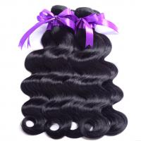 Buy cheap 8A Brazilian Body Wave Human Hair Bundles , Curly Hair Extensions Chemical Free product