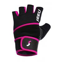 Buy cheap Five Colors Weight Lifting Gloves Corrosion Resistant With 17.5 Wrist Wrap from wholesalers