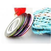 Buy cheap Colorful Nail Art Stripes Tape Decoration,Self-adhesive Nailart foil  from wholesalers
