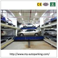 Buy cheap Hydraulic Drive and Steel Rope Underground Garage Car Stacking System Smart Car Parking from wholesalers