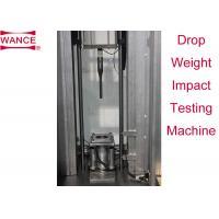 Rigid Plastic Specimens Drop Weight Impact Test Equipment ASTM D5628 Standard