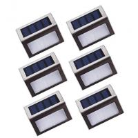 Buy cheap Outdoor Solar LED Stair Lights Stainless Steel Led Deck Step Lights from wholesalers