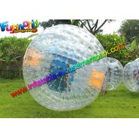 Buy cheap 2.5m Inflatable Grass Body Zorbing Ball , Human Hamster Ball With PVC / TPU from wholesalers