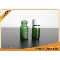 Buy cheap Mini Essential Oil Green Glass Vials and Bottles With Orifice And Cap 5ml or Custom Size from wholesalers