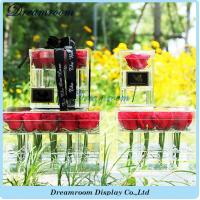 Buy cheap Newest and High Quality OEM Plastic Wholesale Acrylic Flower Acrylic Box from wholesalers