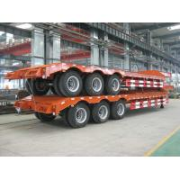 Buy cheap Fast delivery wide load trailer 80ton low bed semi trailer good price from wholesalers