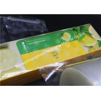 Buy cheap Excellent Printability PVDC Coated BOPP Film PE / CPP Thermal Lamination from wholesalers