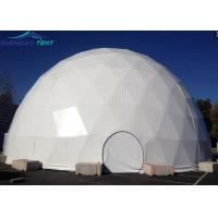 Buy cheap 20m Big Geodesic Dome Tent Half Sphere Tent For Outdoor Wedding Events from wholesalers