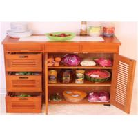 Buy cheap Large Space Indoor Storage Cabinets Kitchen Cabinet Table Customized Size from wholesalers