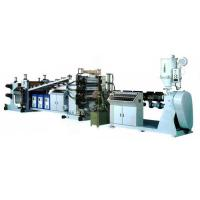 Buy cheap PP/PE/ABS/PET/PC/PMMA/PS Plastic Sheets manufacturing extruding machine from wholesalers