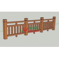 Waterproof Composite Fence Slats , Composite Picket Fence Panels Weather Resistant