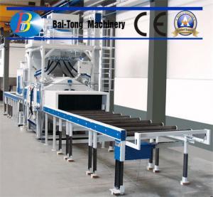 Buy cheap H Beam Electric Shot Blaster , Wheel Shot Blasting Machine Roller Conveyor Type product